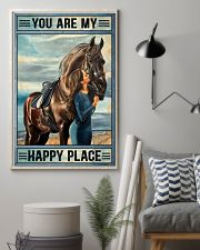Horse Happy Place 16x24 Poster lifestyle-poster-1