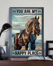 Horse Happy Place 16x24 Poster lifestyle-poster-2