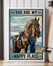 Horse Happy Place 16x24 Poster lifestyle-poster-4