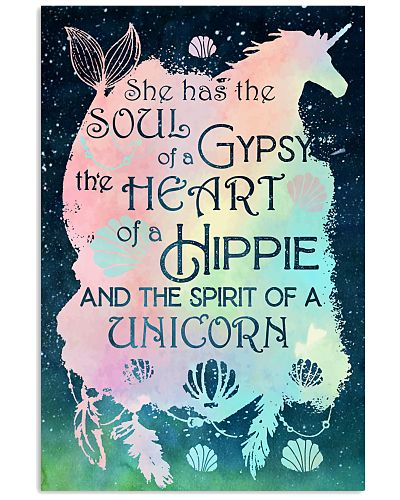Unicorn She Has The Soul Of A Gypsy The Heart Of