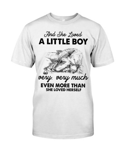 Wolf And She Love A Little Boy