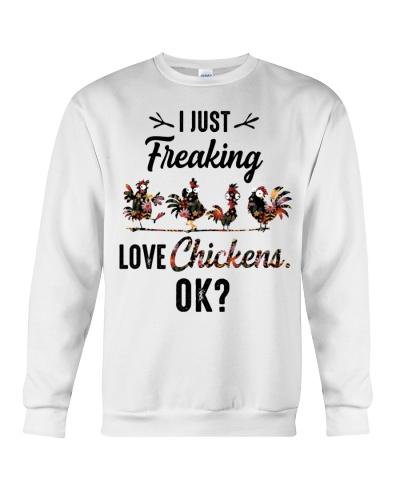 Chicken I just freaking love chickens
