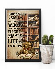 Owl Books Give A Soul To The Universe Wings  11x17 Poster lifestyle-poster-8