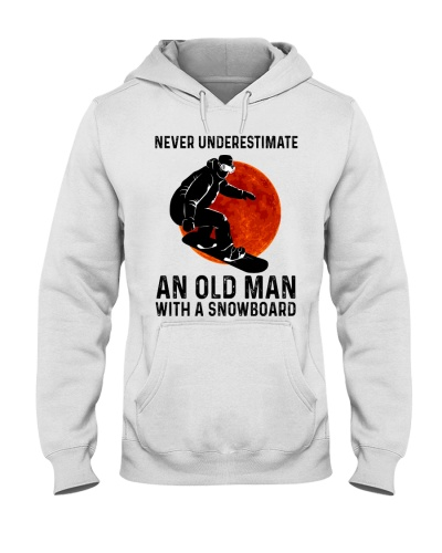 Snowboarding Never underestimate an old man