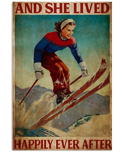 Skiing Poster