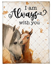 """Baby Horse I Am Always With You Small Fleece Blanket - 30"""" x 40"""" front"""