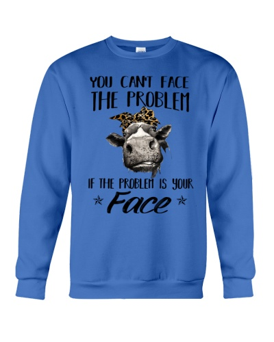 Cow You Can't Face The Problem