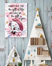 Unicorn I Didn't Give You The Gift Of Life  16x24 Poster lifestyle-holiday-poster-2