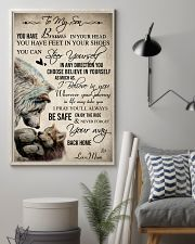 Wolf To My Son You Have Brains 16x24 Poster lifestyle-poster-1