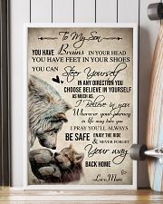 Wolf To My Son You Have Brains 16x24 Poster lifestyle-poster-4