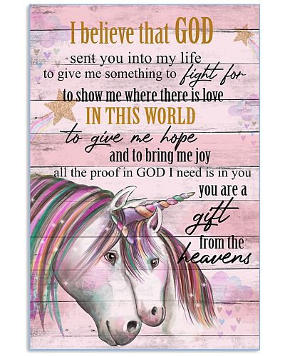 Unicorn I Bielieve That God