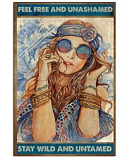 Hippie Feel Freee And unsamed 16x24 Poster front
