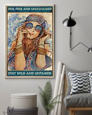Hippie Feel Freee And unsamed 16x24 Poster lifestyle-poster-1