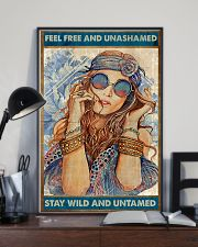 Hippie Feel Freee And unsamed 16x24 Poster lifestyle-poster-2