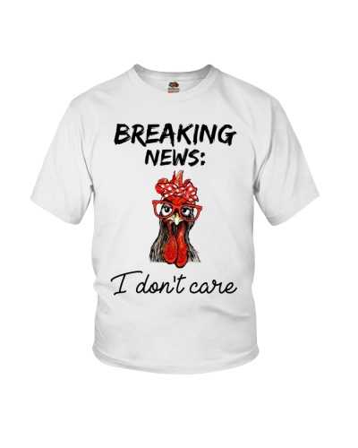Chicken Breaking News I Don't Care