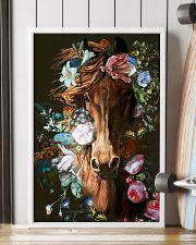 Horse Flower  16x24 Poster lifestyle-poster-4