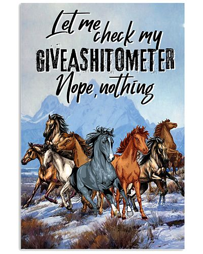 Horse Let Me Check Giveashitmetor Nope Nothing