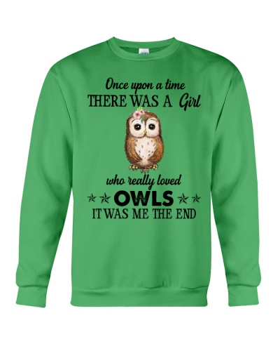 Owl Once Upon A Time There Was A Girl