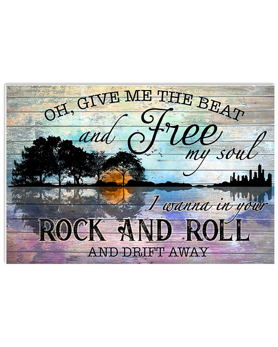 Hippie Oh Give Me The Beat 24x16 Poster