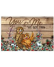 Owl You And Me We Got This 24x16 Poster front