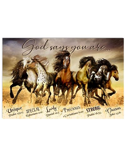 Horse God Says You Are