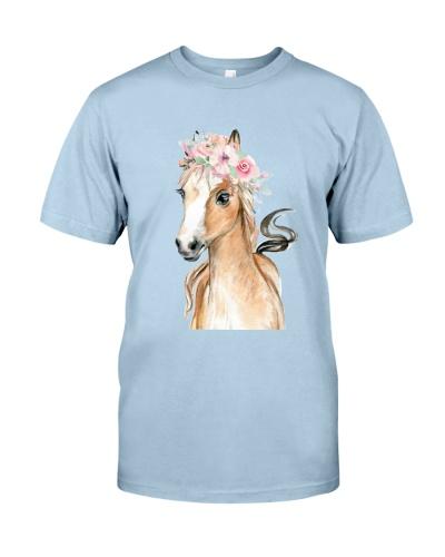 Horse Flower Cute