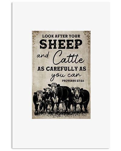 Cow Look After Your Sheep And Cattle