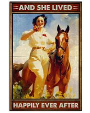 Horse And She Lived Happily 16x24 Poster front