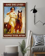 Horse And She Lived Happily 16x24 Poster lifestyle-poster-1
