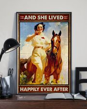 Horse And She Lived Happily 16x24 Poster lifestyle-poster-2