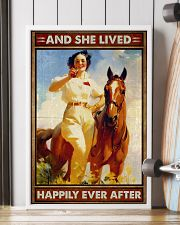 Horse And She Lived Happily 16x24 Poster lifestyle-poster-4