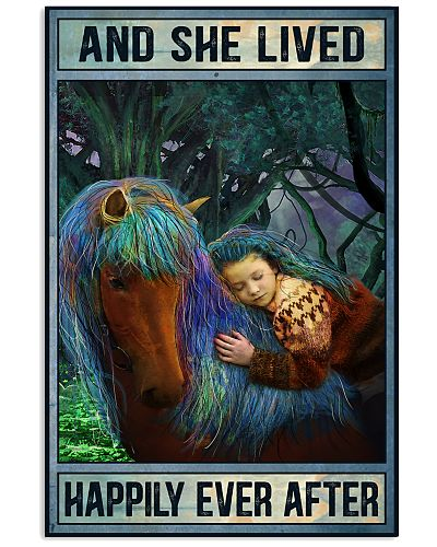 Horse And She Lived Happily