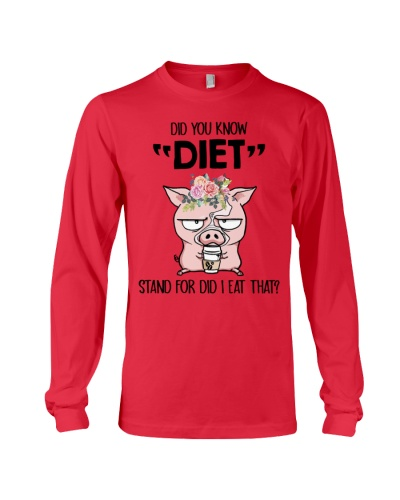 Pig Did You Know Diet