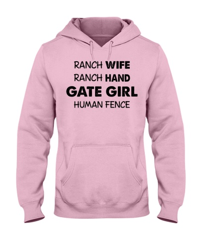 Horse Ranch Wife Ranch Hand Gate Girl