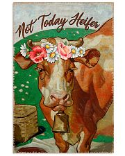 Cow Not Today Heifer 16x24 Poster front