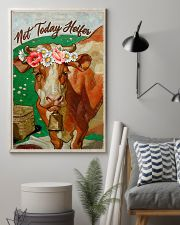 Cow Not Today Heifer 16x24 Poster lifestyle-poster-1