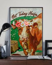 Cow Not Today Heifer 16x24 Poster lifestyle-poster-2