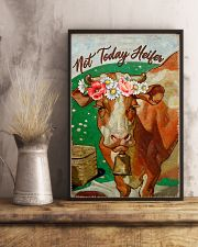 Cow Not Today Heifer 16x24 Poster lifestyle-poster-3