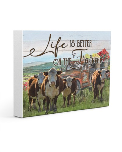 Cow Life Is Better On The Farm