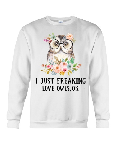 Owl I Just Freaking Love Owls