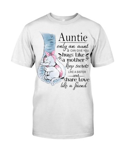 Elephant Only an aunt can give you hugs