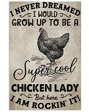 Chicken I Never Dream 16x24 Poster front