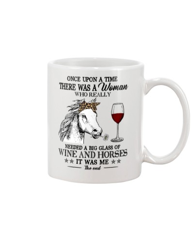 Horse Once upon A Time A Big Glass Of Wine
