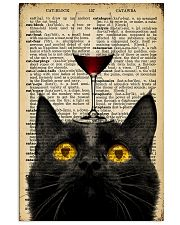 Cat Wine  16x24 Poster front