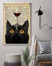 Cat Wine  16x24 Poster lifestyle-poster-1