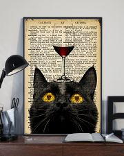 Cat Wine  16x24 Poster lifestyle-poster-2