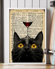 Cat Wine  16x24 Poster lifestyle-poster-4