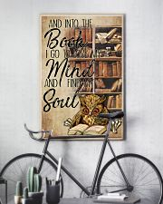Owl And Into The Book I Go To Lose My Mind 11x17 Poster lifestyle-poster-7