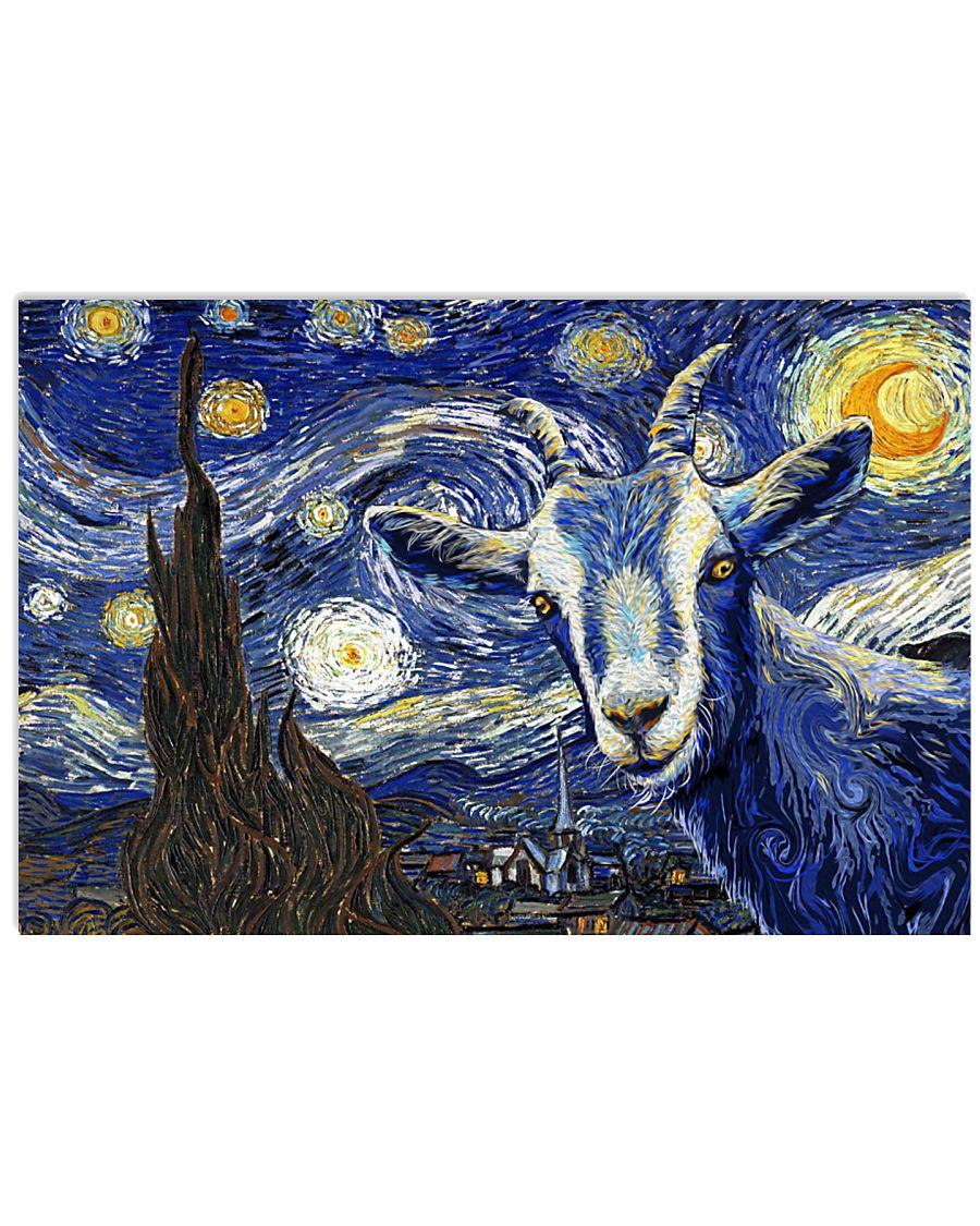 Goat 24x16 Poster
