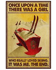 Skiing once upon a time 16x24 Poster front